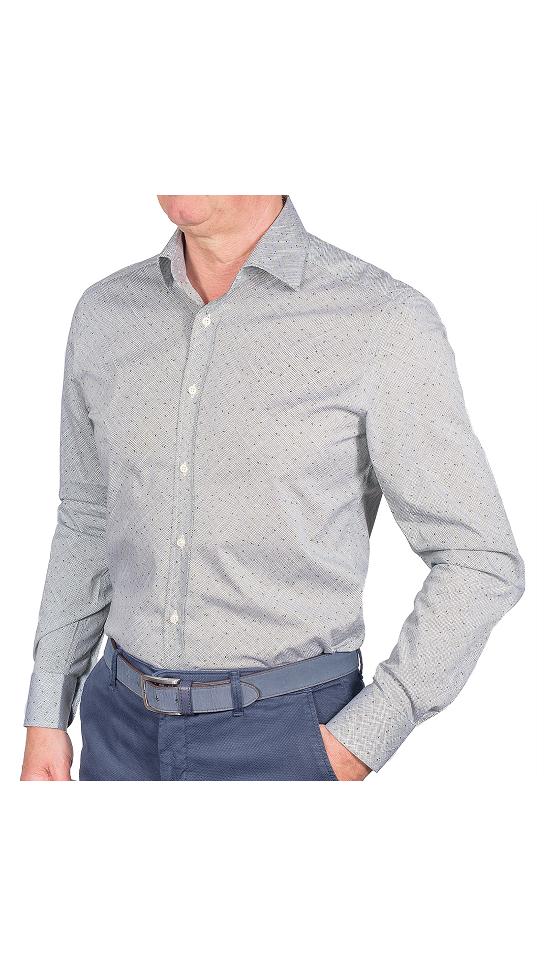LUXURYJTEL0004 CAMICIA UOMO DOPPIO RITORTO MANICA LUNGA 1 1stAmerican camicia elegante da uomo in collo classico 100% cotone alta qualità doppio ritorto manica lunga – camicia sartoriale regular fit elasticizzata