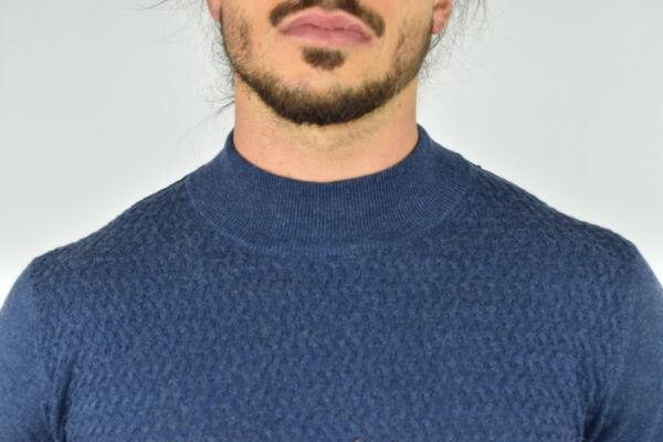 MATTEO JEANS MAGLIA UOMO CASHMERE SETA LUPETTO MANICA LUNGA 2 1stAmerican maglia lupetto in cashmere e seta da uomo manica lunga - pullover invernale girocollo finezza 14