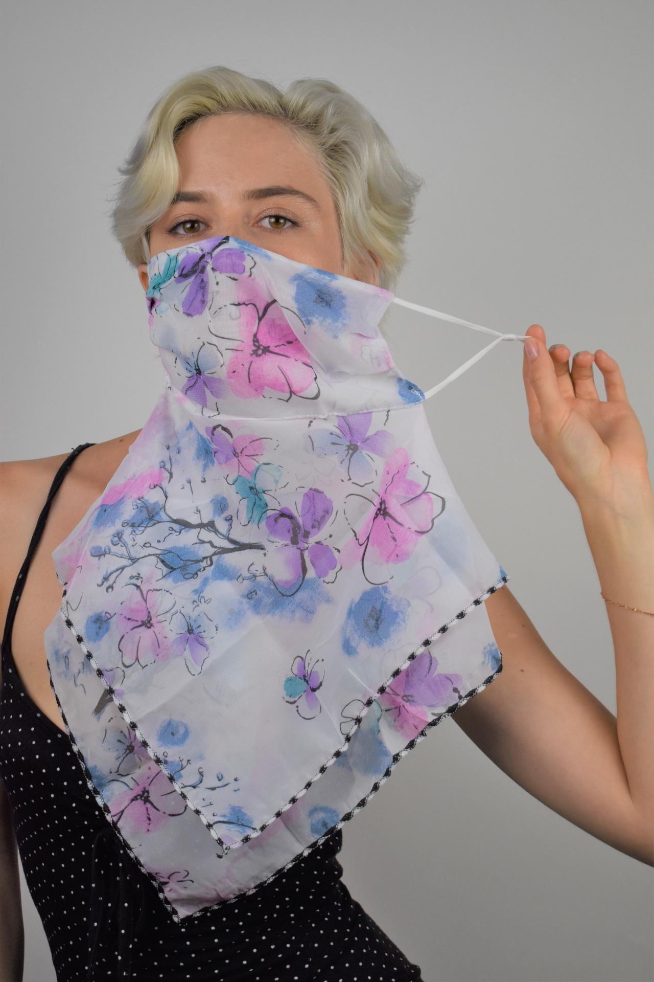 MIX FOULARD DONNA SCIARPA COPRIVISO ANTIVENTO 1 1stAmerican foulard da donna sciarpa copriviso antivento