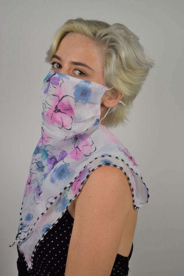 MIX FOULARD DONNA SCIARPA COPRIVISO ANTIVENTO 2 1stAmerican foulard da donna sciarpa copriviso antivento