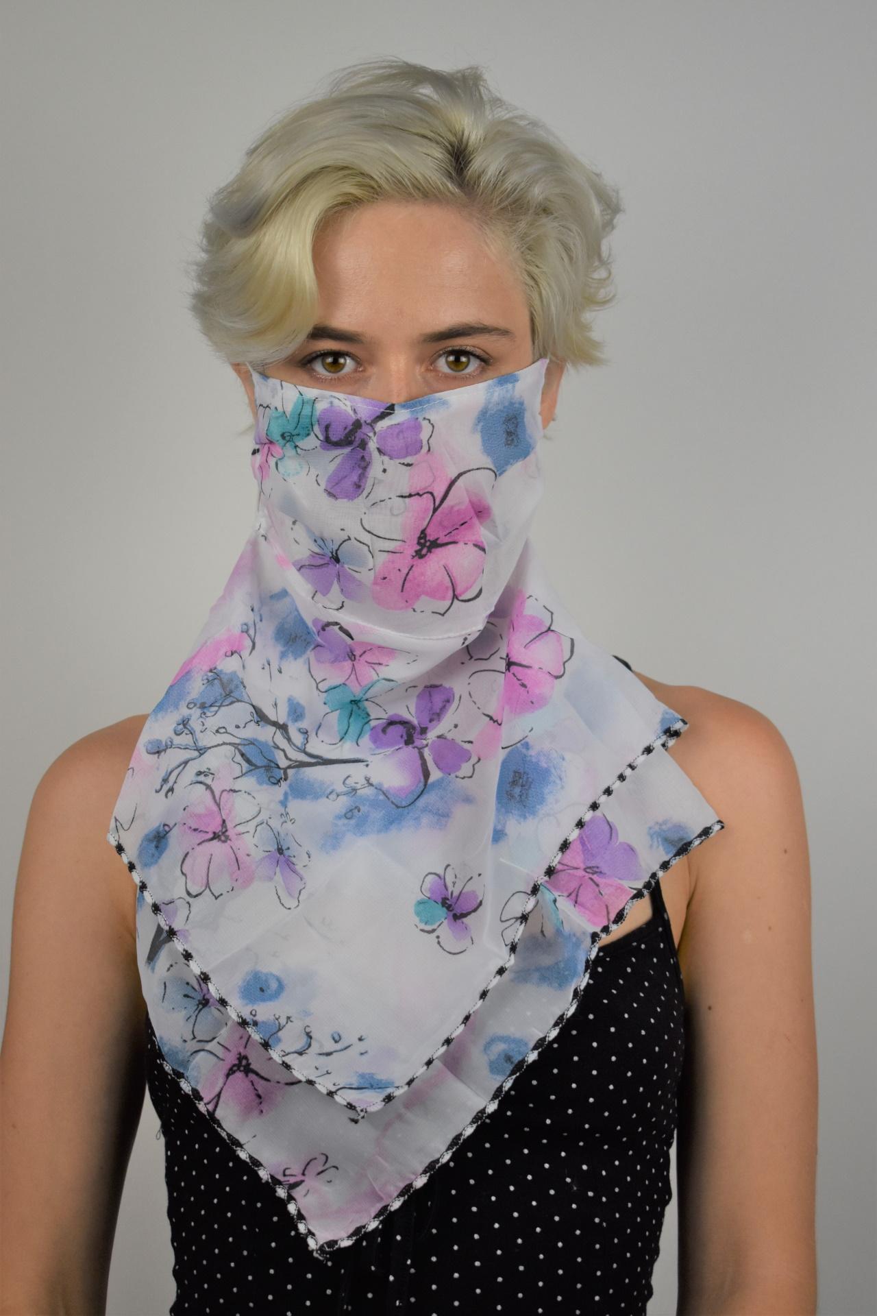 MIX FOULARD DONNA SCIARPA COPRIVISO ANTIVENTO 3 1stAmerican foulard da donna sciarpa copriviso antivento