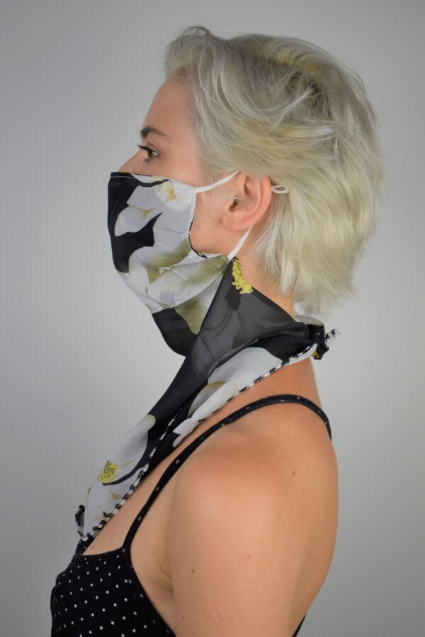 N01 FOULARD DONNA SCIARPA COPRIVISO ANTIVENTO 3 1stAmerican foulard da donna sciarpa copriviso antivento